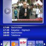 SPB TV - App zum IP-TV Fernsehen mit Windows Mobile