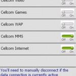 Datacontroller - App zum Ausschalten der Internetverbindung auf dem PocketPC