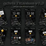 gchris Titanium Windows Mobile Theme / Skin