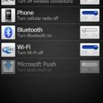 Tab für Netzwerkverbindung HTC Sense 2.1 & 2.5