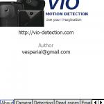VIO - SpyCam für Windows Mobile mit Bewegungserkennung