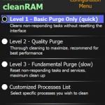 CleanRAM - App für Windows Mobile zum Leeren des Arbeitsspeicher