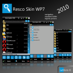 WP7 Windows Phone 7 Skin / Theme Resco Explorer