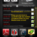 Advanced Home Tab HTC Sense Windows Mobile