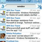 moTweets 1.7 Twitter Client für Windows Mobile