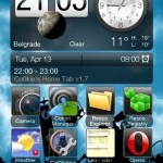 screen06 1 150x150 Co0kies Home Tab v1.7.0   HTC Sense 2.5 Homescreen Theme Skin Windows Mobile